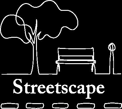 Concrete Bollards – Concrete Benches – Concrete Bin Streetscape